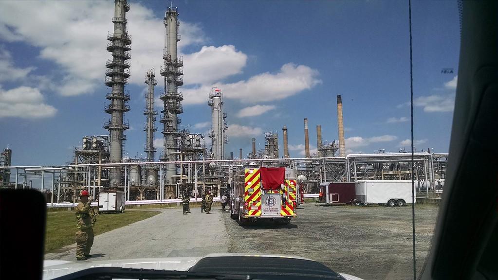Delaware City Refinery Fire