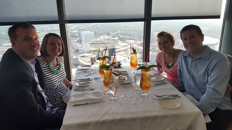 Sun Dial Restaurant in Atlanta